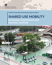 Shared Use Mobility report cover