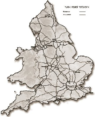 Map Of England Motorways.Office Of International Programs Policy Federal Highway
