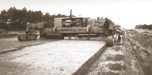 bidwell finishing machine